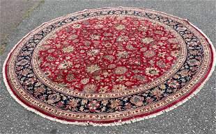 Indo Tabriz Round Rug