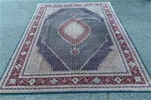 Silk and Wool Fish Design Tabriz