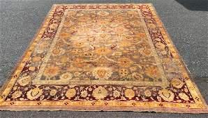 Room Size Antique Turkish Rug