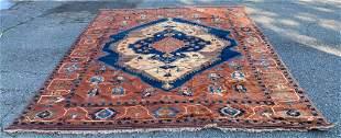 Room Size Afghan Turkman Geometric Design