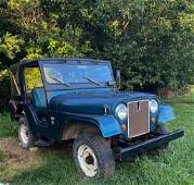 Single Owner 1969 Jeep CJ-5, Matching Numbers