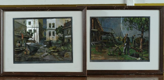 Pair of Lionel Barrymore Art Prints