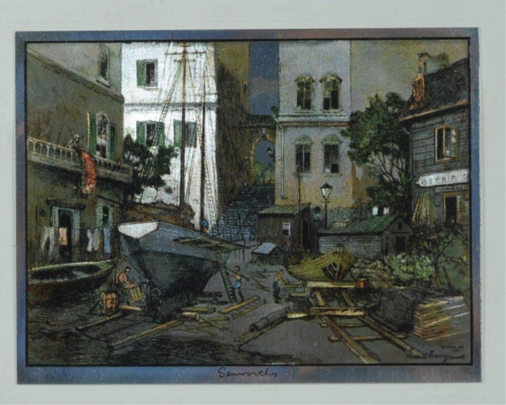 Pair of Lionel Barrymore Art Prints - 2
