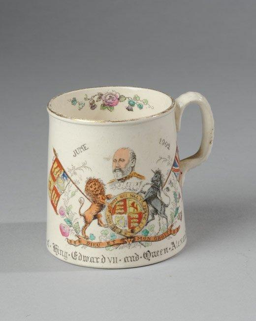 King Edward VII Coronation Mug, 1902