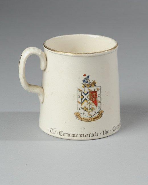 King Edward VII Coronation Mug, 1902 - 2