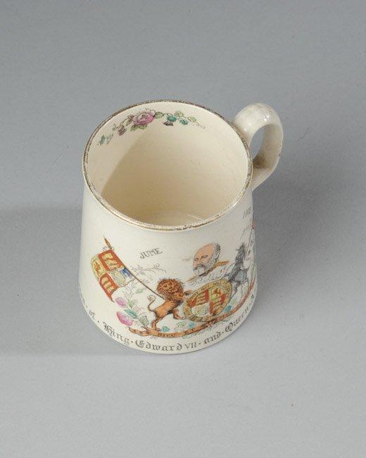King Edward VII Coronation Mug, 1902 - 3