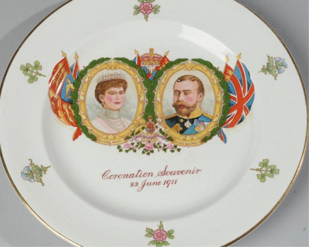 Harrods King George V Coronation Plate, 1911