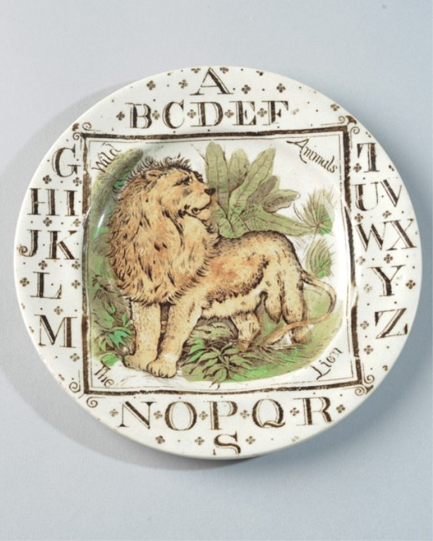 19th C. English Child's Plate