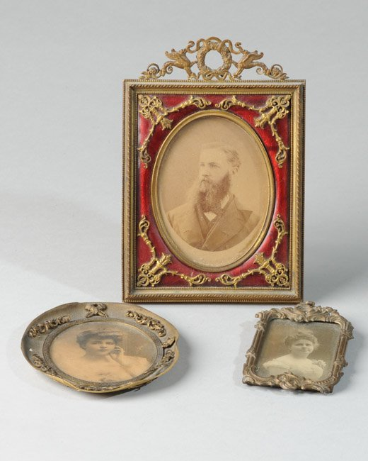 Three Early Framed Photographs