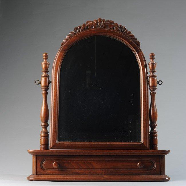 Davis Cabinet Company Walnut Dresser Mirror