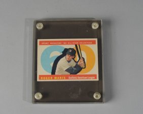 1960 Topps Roger Maris #565 Baseball Card
