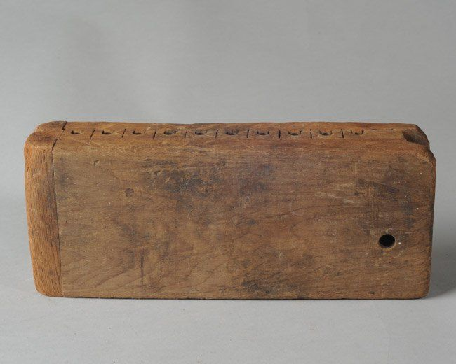Early Wooden Cigar Mold