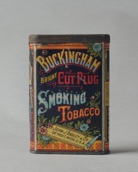 Buckingham Bright Cut Plug Tobacco Tin