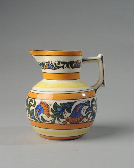 Czech Erphila Pottery Pitcher