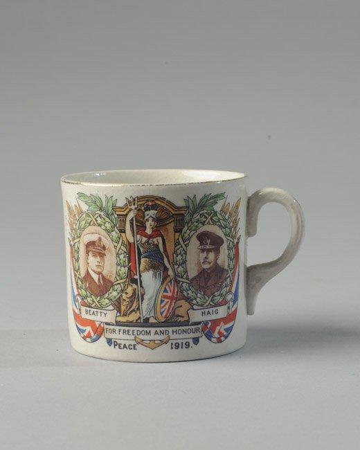 WWI Beatty and Haig Mug