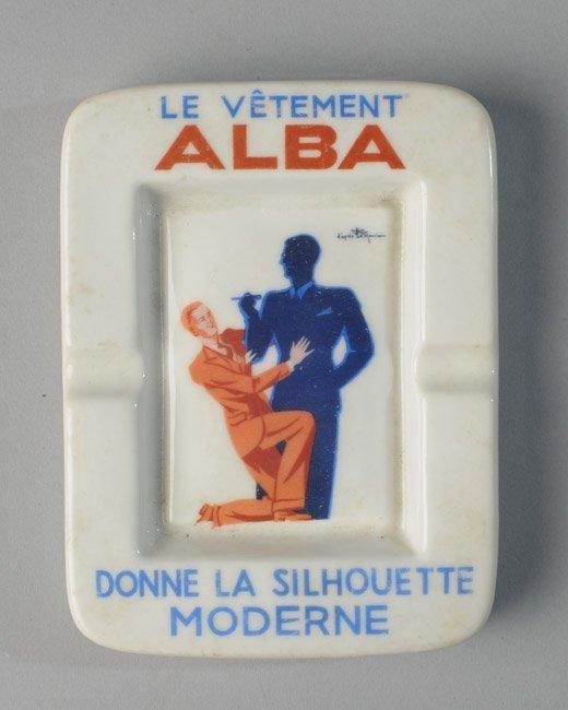 Limoges Art Deco Ashtray