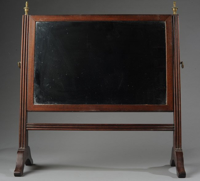 Mahogany Table Top Dresser Mirror
