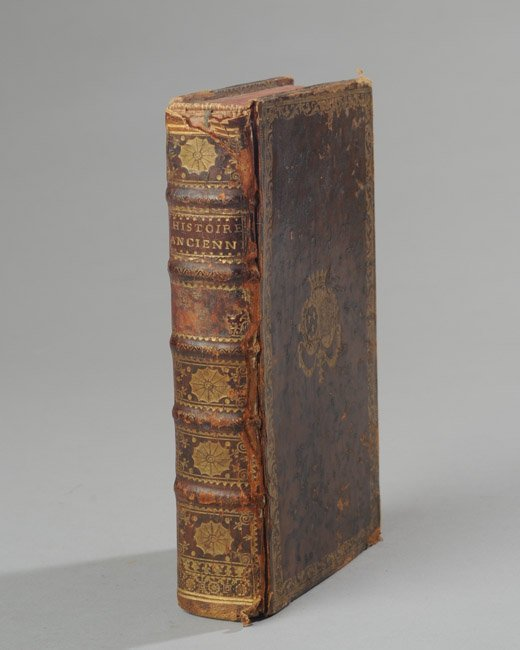 18th. C. Leatherbound Book
