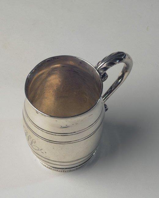 Important Historical Philadelphia Coin Silver Mug