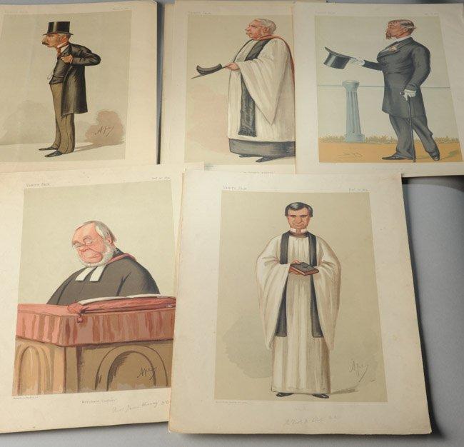 Five Vanity Fair Prints