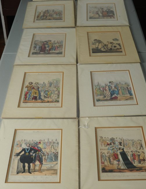 23 French Civil, Military and Religious Prints