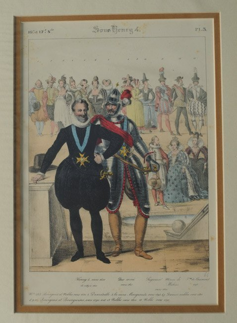 23 French Civil, Military and Religious Prints - 2