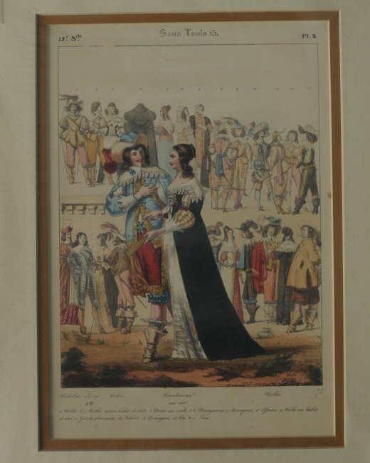 23 French Civil, Military and Religious Prints - 3