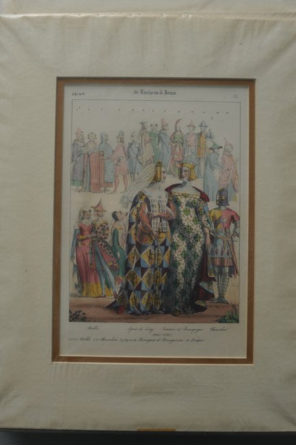 23 French Civil, Military and Religious Prints - 6