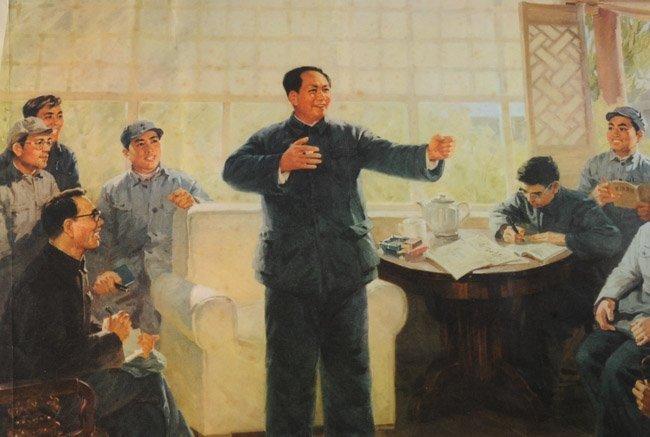 Original Mao Tse-tung Propaganda Poster - 3