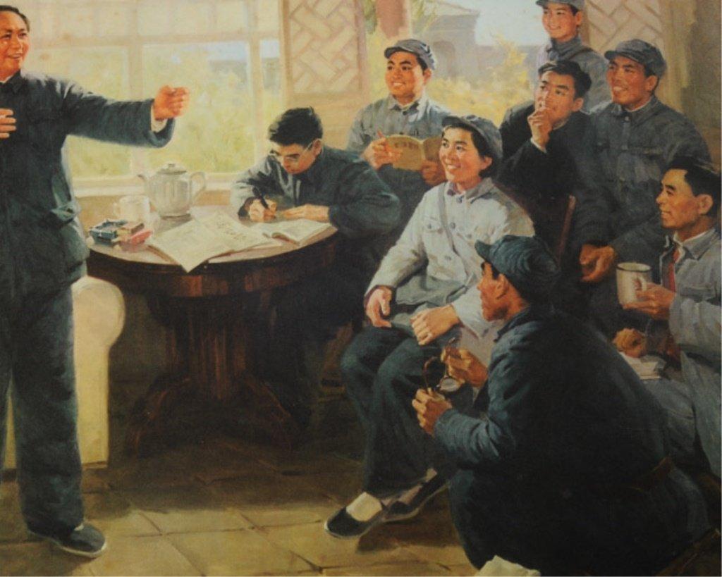 Original Mao Tse-tung Propaganda Poster - 4