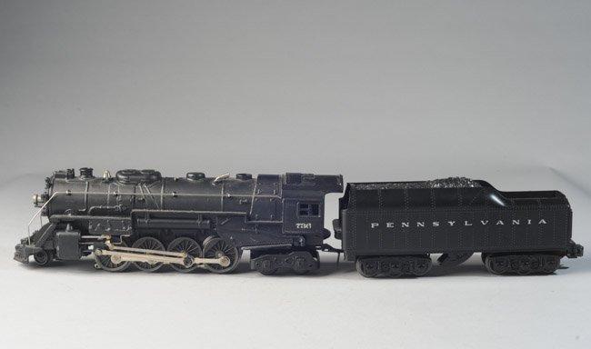 Lionel Postwar 736 Berkshire Engine & 2671W Tender