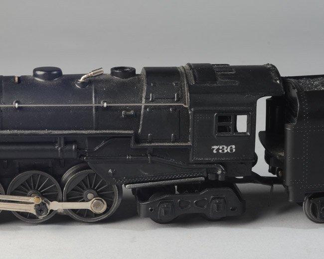 Lionel Postwar 736 Berkshire Engine & 2671W Tender - 3