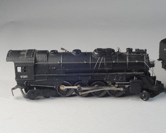 Lionel Postwar 736 Berkshire Engine & 2671W Tender - 6