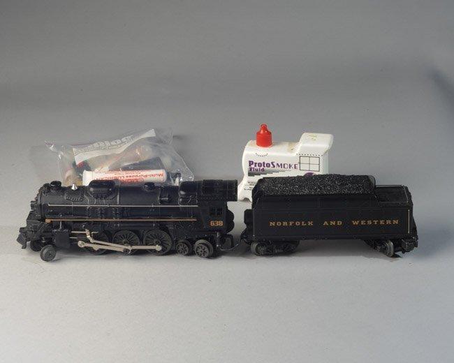 Lionel #6-18638 2-6-4 Steam Locomotive & Tender