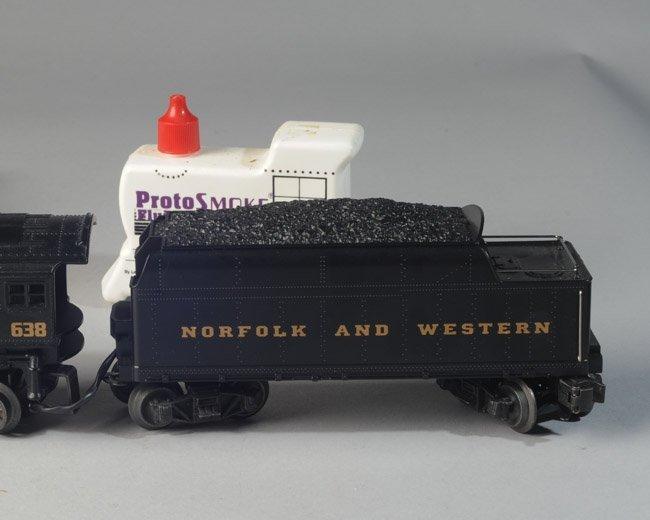 Lionel #6-18638 2-6-4 Steam Locomotive & Tender - 3