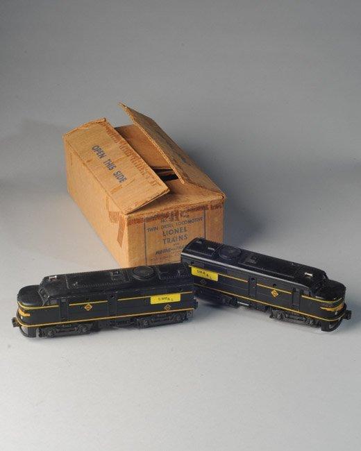 Lionel Postwar #2032 Erie Twin Diesel Locomotives