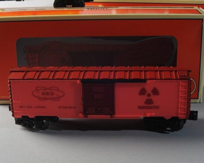 Lot of 3 Lionel AEC: 2 Glow In Dark, 1 Uranium - 5