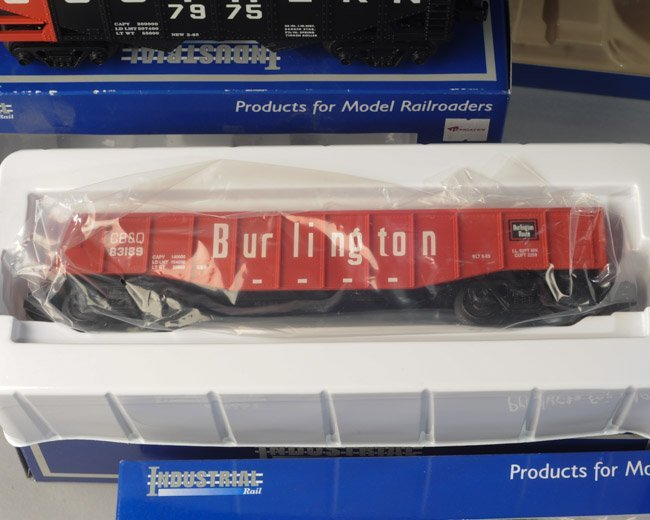 Lot of 5 Industrial Rail Cars O27 Scale - 6