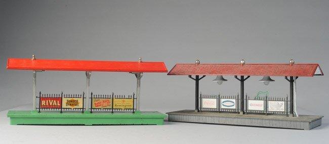 Two Vintage Lionel Station Platforms