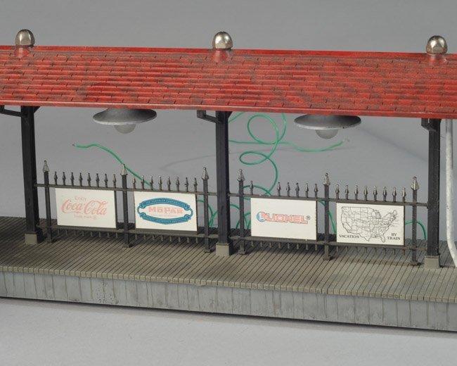 Two Vintage Lionel Station Platforms - 4