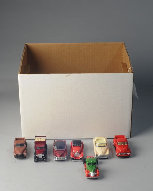 Mixed lot toy cars, Ertl, Road Champs, +