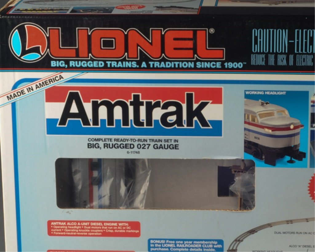 Lionel 6-11748 Amtrak Set with Trains / Cars Only - 2