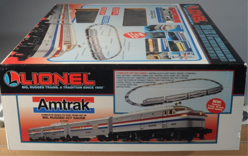 Lionel 6-11748 Amtrak Set with Trains / Cars Only - 4