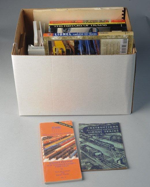 Box Lot of Train Books