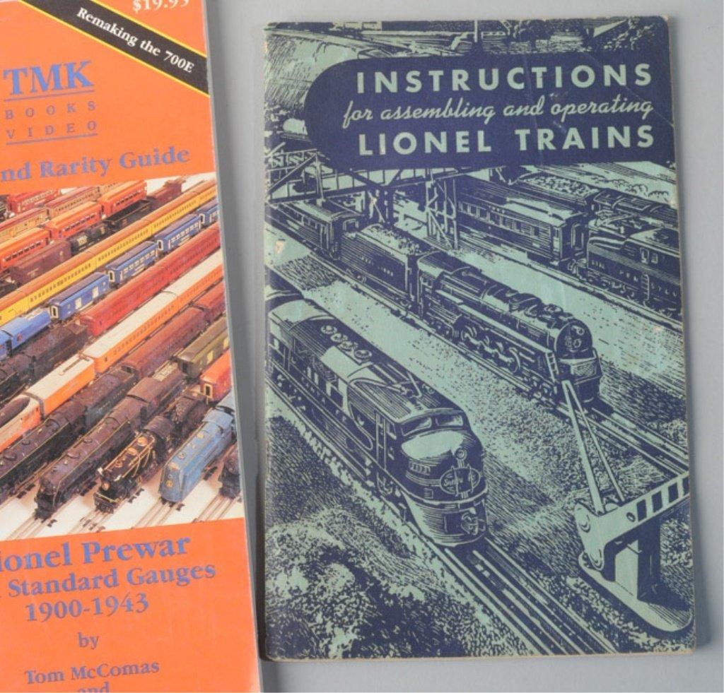 Box Lot of Train Books - 2