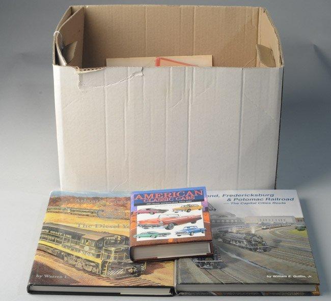 Large Lot of Railroad Books