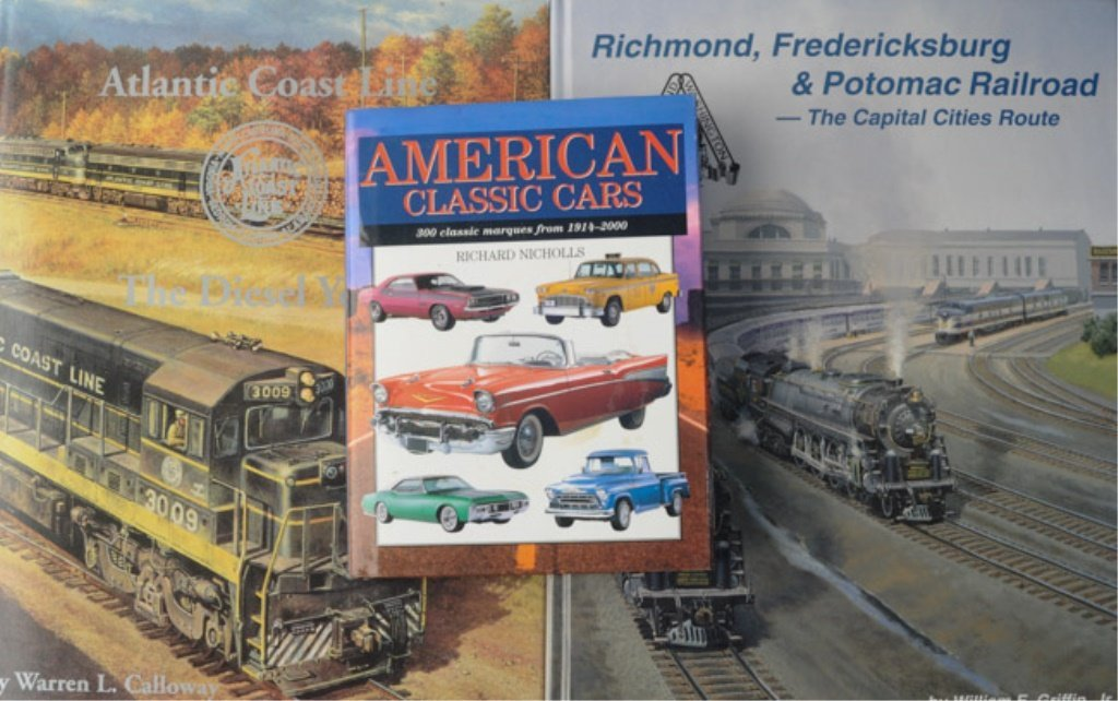 Large Lot of Railroad Books - 2