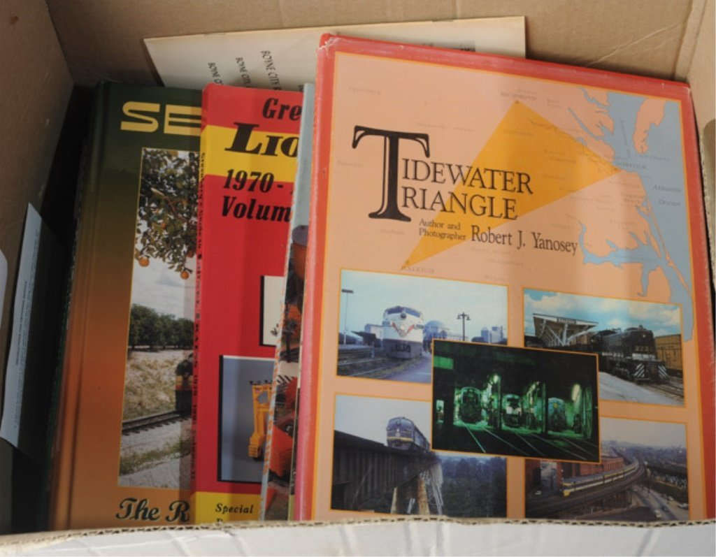 Large Lot of Railroad Books - 3