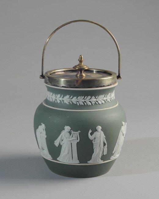 Wedgwood Jasperware Biscuit Jar