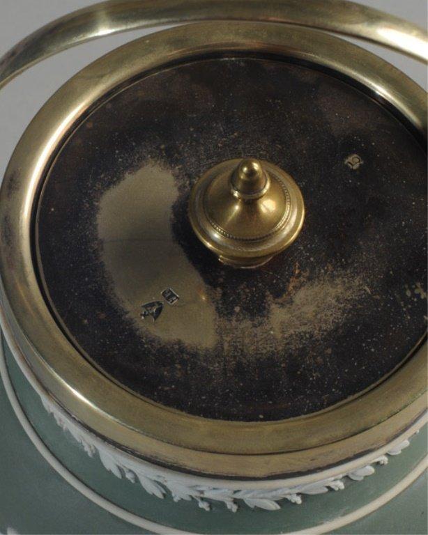 Wedgwood Jasperware Biscuit Jar - 3